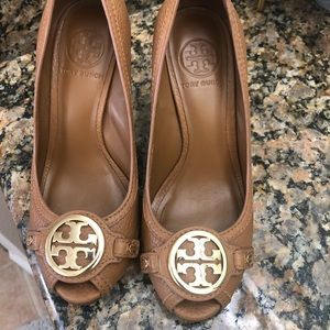Tory Burch wedges - EUC